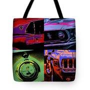 '69 Mustang Tote Bag by Gordon Dean II