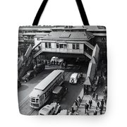 6th Avenue And 42nd Street Tote Bag