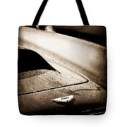 1959 Aston Martin Db4 Gt Hood Emblem Tote Bag
