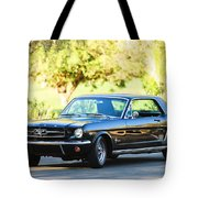 1965 Shelby Prototype Ford Mustang Tote Bag