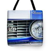 1969 Chevrolet Camaro Z-28 Grille Emblem Tote Bag