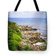 Atlantic Coast In Newfoundland Tote Bag