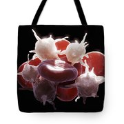 Blood Cells Tote Bag