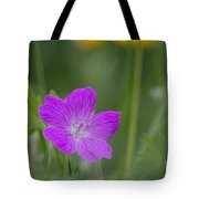 Bloody Geranium Tote Bag