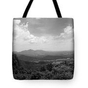 Blue Ridge Mountains - Virginia Bw 2 Tote Bag