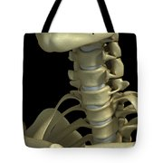 Bones Of The Neck Tote Bag