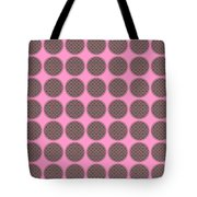 7 By 7 On Pink Tote Bag