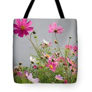 Close-up Of Flowers Tote Bag