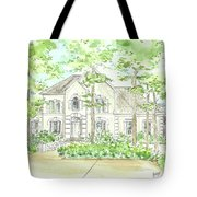 Custom House Portrait  Or Rendering Sample Tote Bag