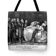 Death Of Lincoln, 1865 Tote Bag