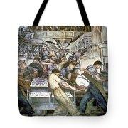 Diego Rivera - Detroit Tote Bag