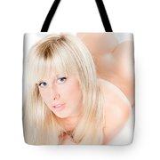 Erotic Nude Tote Bag