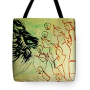 Five Wise Virgins  Tote Bag by Gloria Ssali