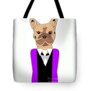 French Bulldog Painting Tote Bag