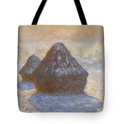 Haystacks Tote Bag