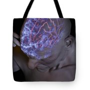 Head Pain Tote Bag