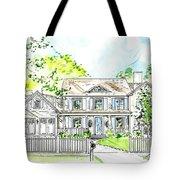 House Rendering Tote Bag