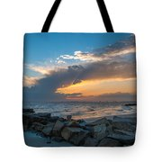 Sc Lowcountry Sunset Tote Bag