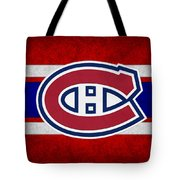 Montreal Canadiens Tote Bag