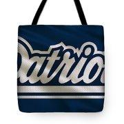 New England Patriots Uniform Tote Bag