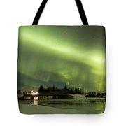 Northern Lights Iceland Tote Bag