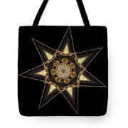 7 Point Star Tote Bag