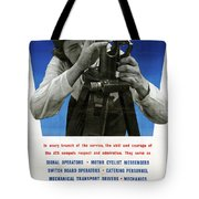 Poster Women Workers Tote Bag
