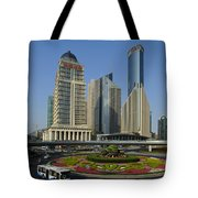Pudong Skyline Tote Bag