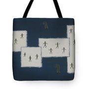 7 Ray World Dance Tote Bag
