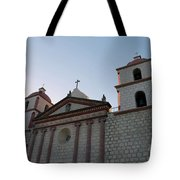 Santa Barbara Mission Tote Bag