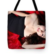 Sexy Woman Tote Bag