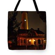 St Simons Island Lighthouse 2 Tote Bag