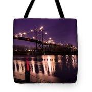 Suspension Bridge Tote Bag