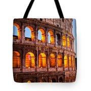 The Majestic Coliseum - Rome Tote Bag