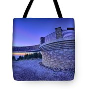 Top Of Mount Mitchell Before Sunset Tote Bag