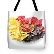 Tortilla Chips And Salsa Tote Bag