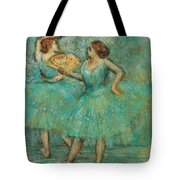 Two Dancers Tote Bag