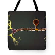 Unipolar Neuron Tote Bag
