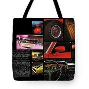 '70 Mustang Options Tote Bag