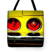 71 Camaro Tail Lights Tote Bag