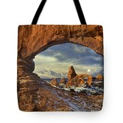 714000087 Turret Arch Arches National Park Tote Bag