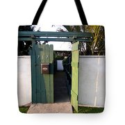 717 Gate Open Coronado California Tote Bag
