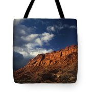 clearing storm waterpocket fold capitol reef NP Tote Bag