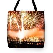 75th Golden Gate Bridge Celebration Tote Bag