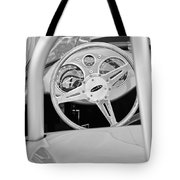 1959 Devin Ss Steering Wheel Tote Bag