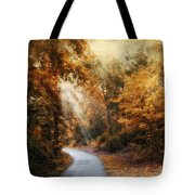 Late Autumn Trail Tote Bag