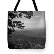Blue Ridge Mountains - Virginia Bw Tote Bag