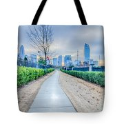 Charlotte Downtown Tote Bag