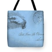 Civil War Letter, C1863 Tote Bag