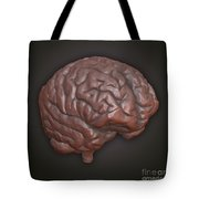 Clay Model Of Brain Tote Bag